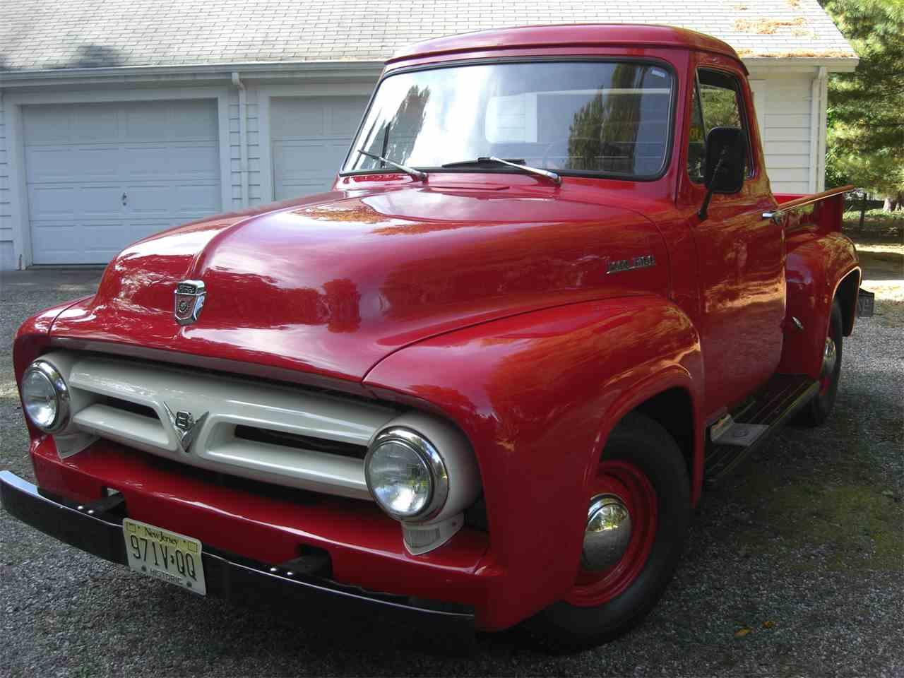Tolle 1953 Ford F100 Verdrahtungspläne Zeitgenössisch - Elektrische ...