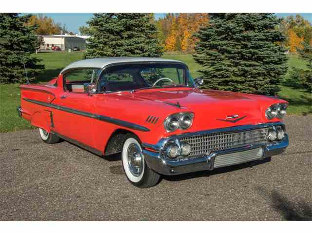 Picture of '58 Impala located in Minnesota Offered by Ellingson Motorcars - M6KD
