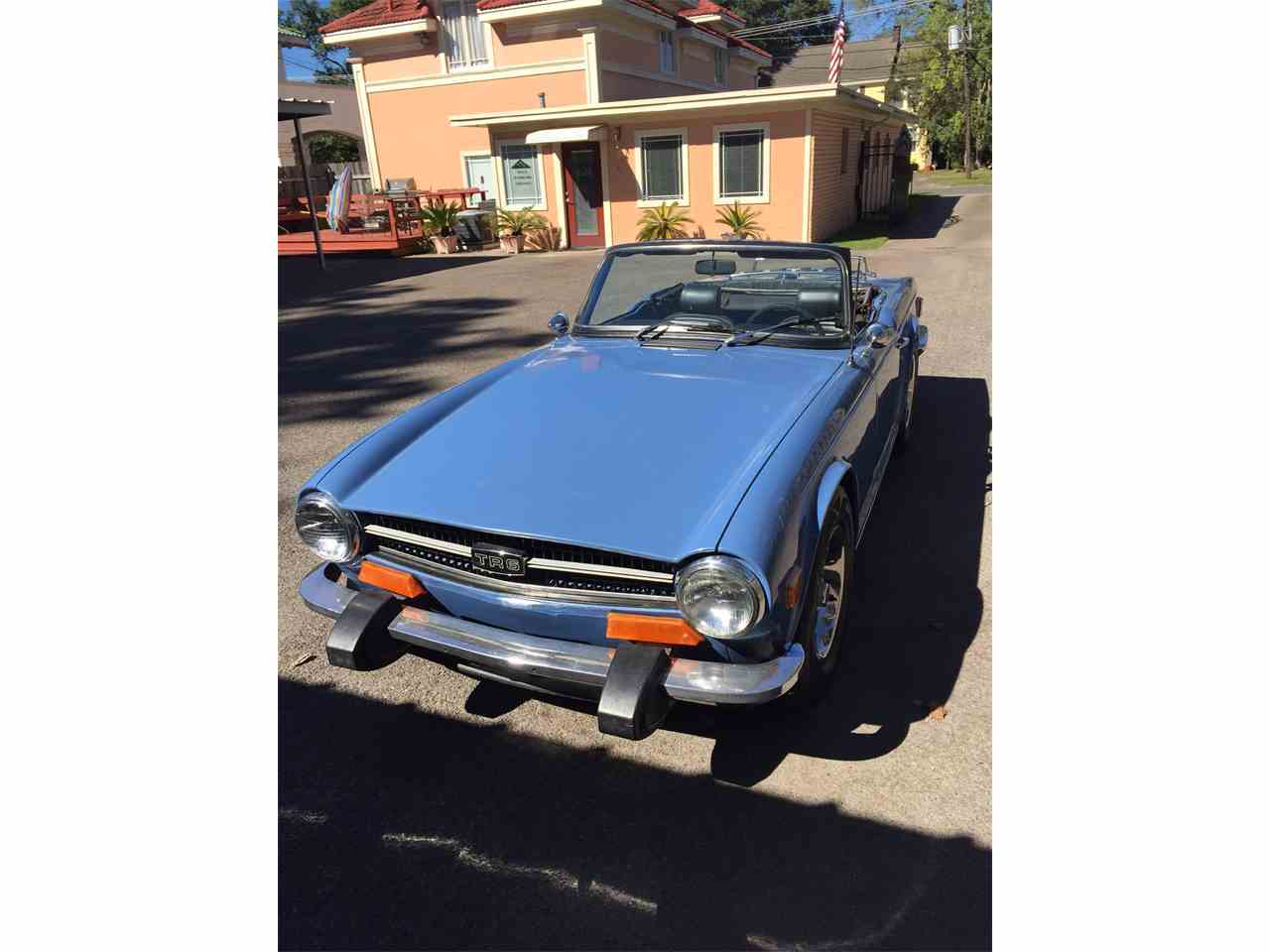 Classic Cars For Sale In Southeast Texas: 1974 Triumph TR6 For Sale