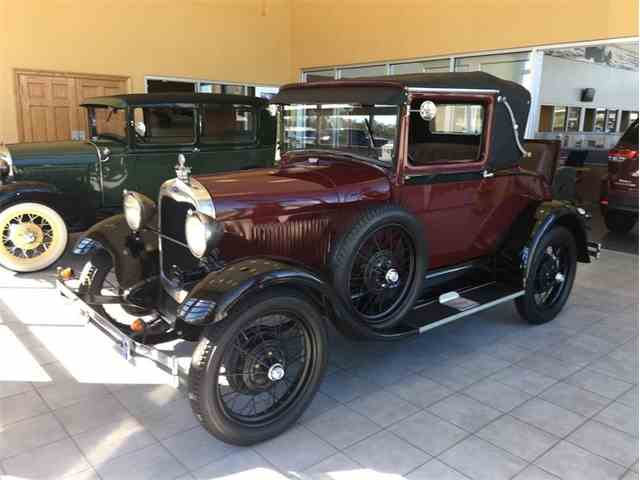 1929 Ford Model A Cabriolet Coupe | 1035211
