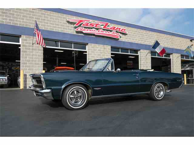 Picture of Classic '65 GTO located in St. Charles Missouri Offered by Fast Lane Classic Cars Inc. - M6SZ
