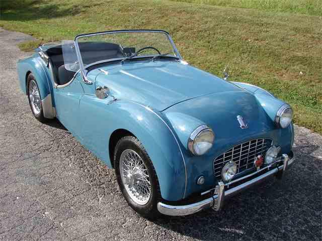 1957 Triumph TR3   1035301