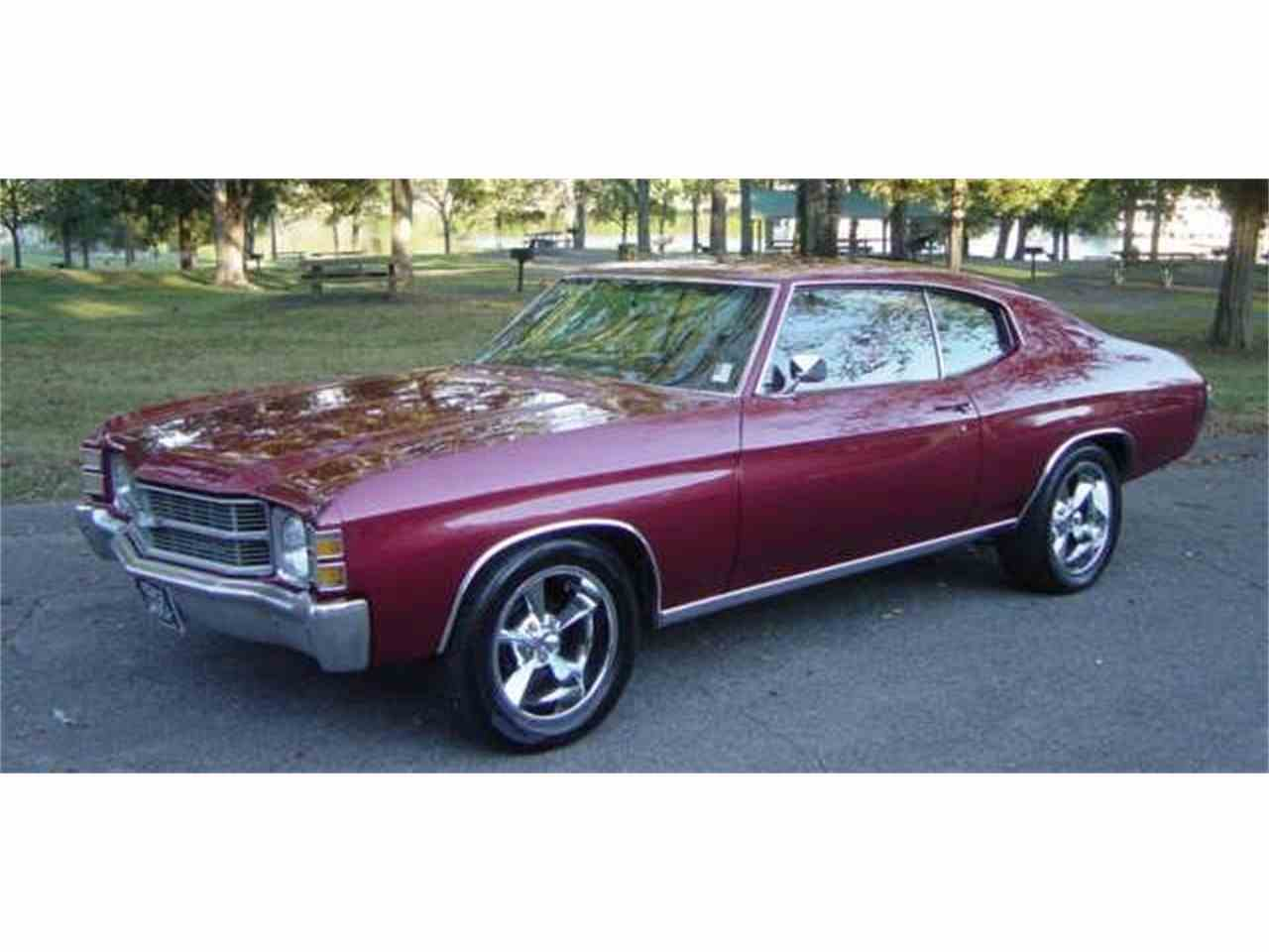 Large Picture of '71 Chevelle - M6YX