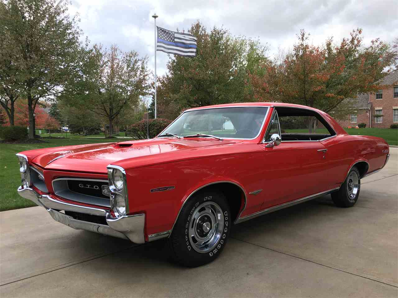 1966 pontiac gto for sale cc 1035515. Black Bedroom Furniture Sets. Home Design Ideas