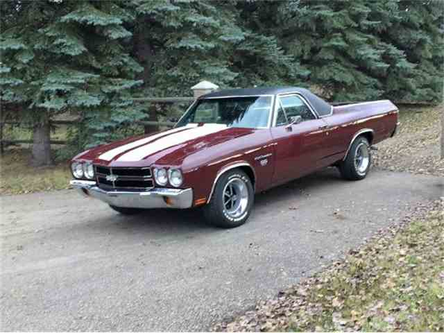Picture of Classic 1970 Chevrolet El Camino SS located in Edmonton ALBERTA - M70W