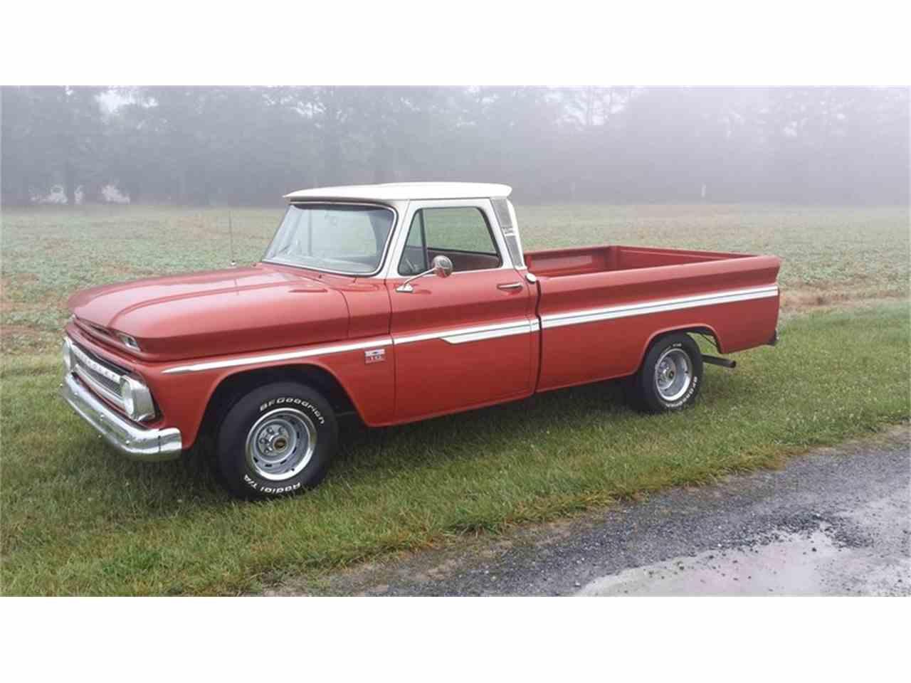 1966 chevrolet c10 1 2 ton pickup for sale cc 1035618. Black Bedroom Furniture Sets. Home Design Ideas