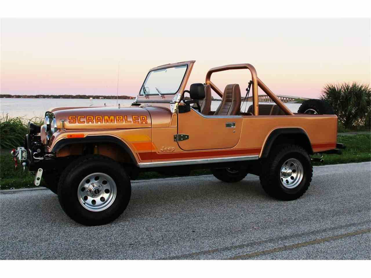 1984 jeep cj8 scrambler for sale cc 1035763. Black Bedroom Furniture Sets. Home Design Ideas