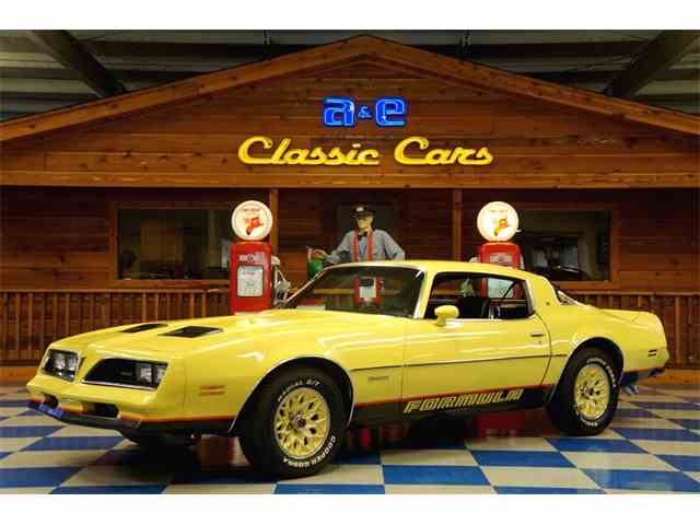 Picture of 1978 Pontiac Firebird Formula located in TEXAS Offered by A&E Classic Cars - M77B
