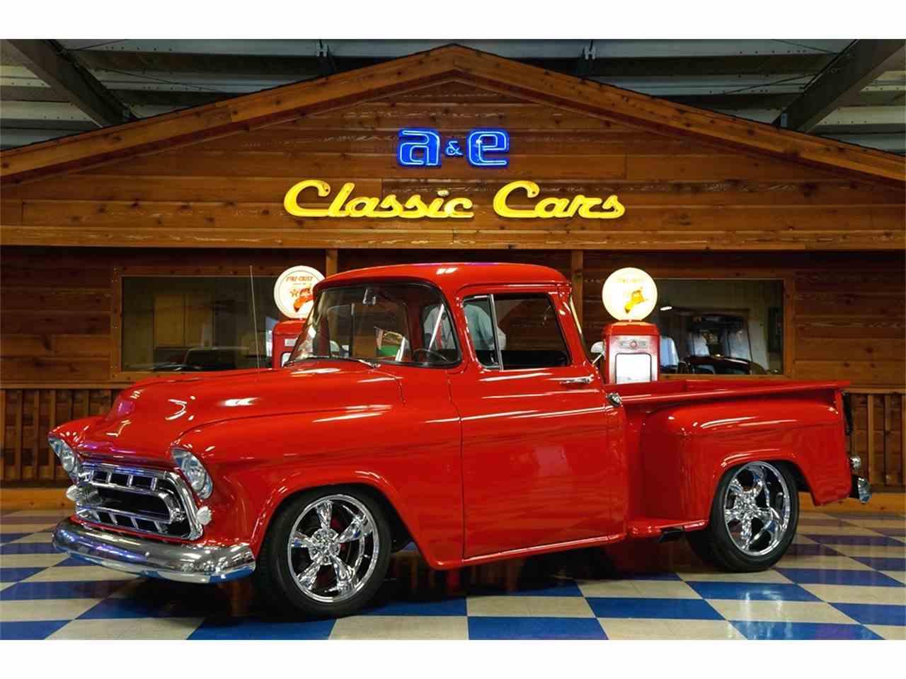 1957 chevrolet pickup for sale cc 1035770. Black Bedroom Furniture Sets. Home Design Ideas