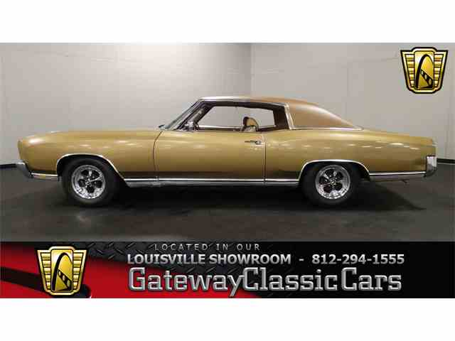 Picture of Classic '70 Monte Carlo located in Memphis Indiana - $19,995.00 Offered by Gateway Classic Cars - Louisville - M7A0