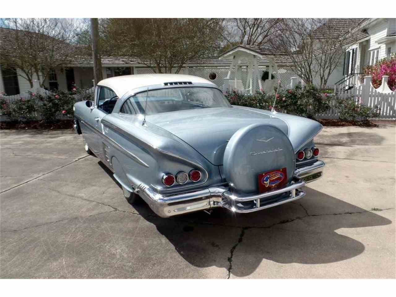 1958 chevrolet impala for sale cc 1035868. Black Bedroom Furniture Sets. Home Design Ideas