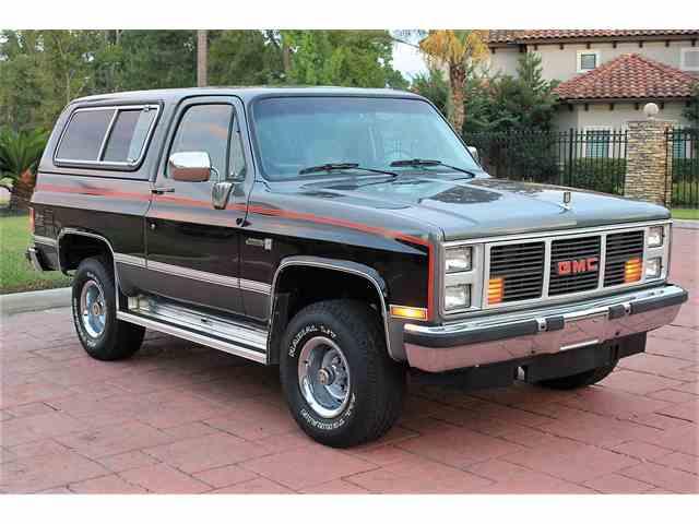 1987 GMC Jimmy   1035885