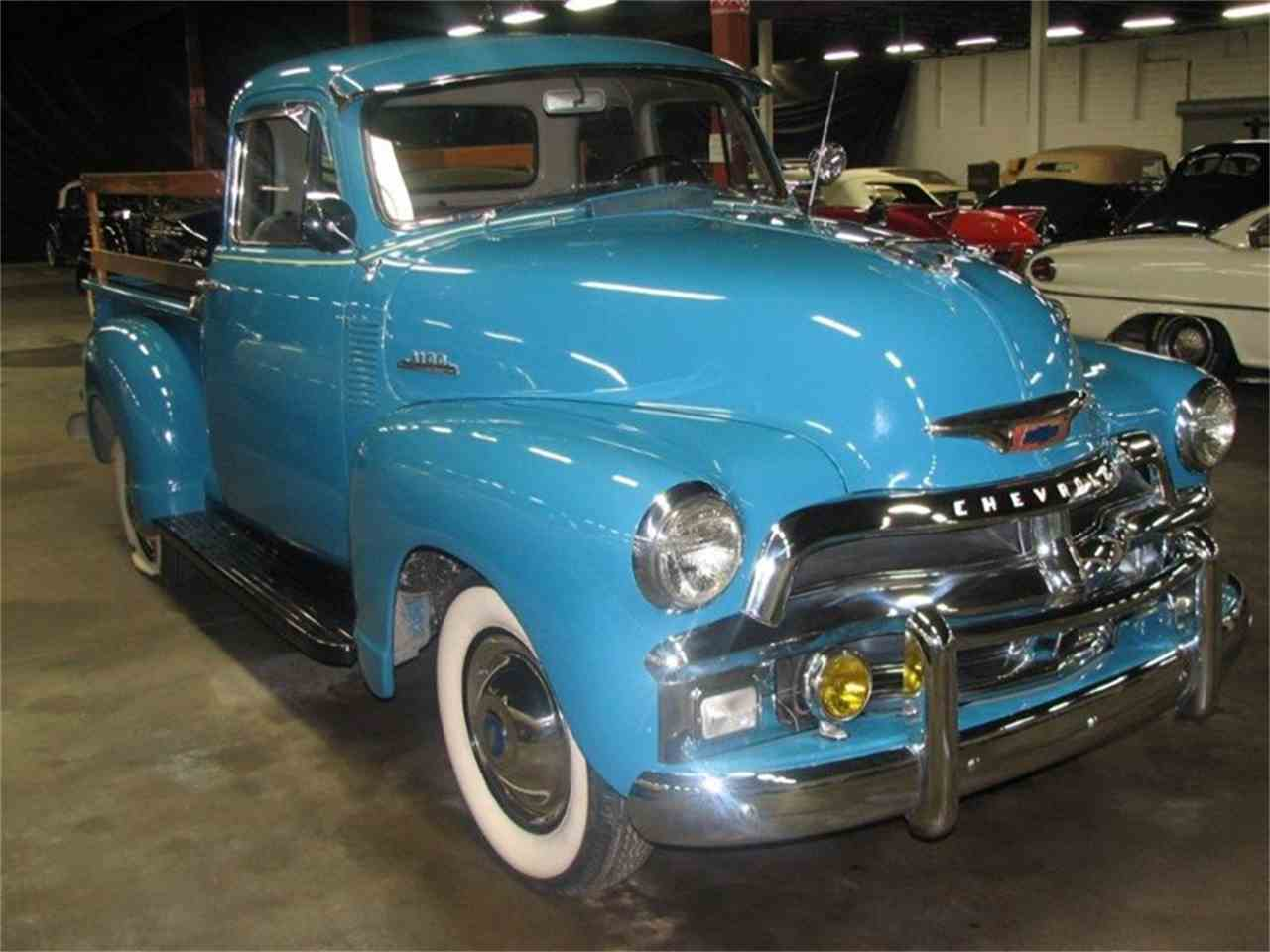 1954 chevrolet 3100 5 window pickup for sale classiccars for 1954 chevy truck 5 window for sale
