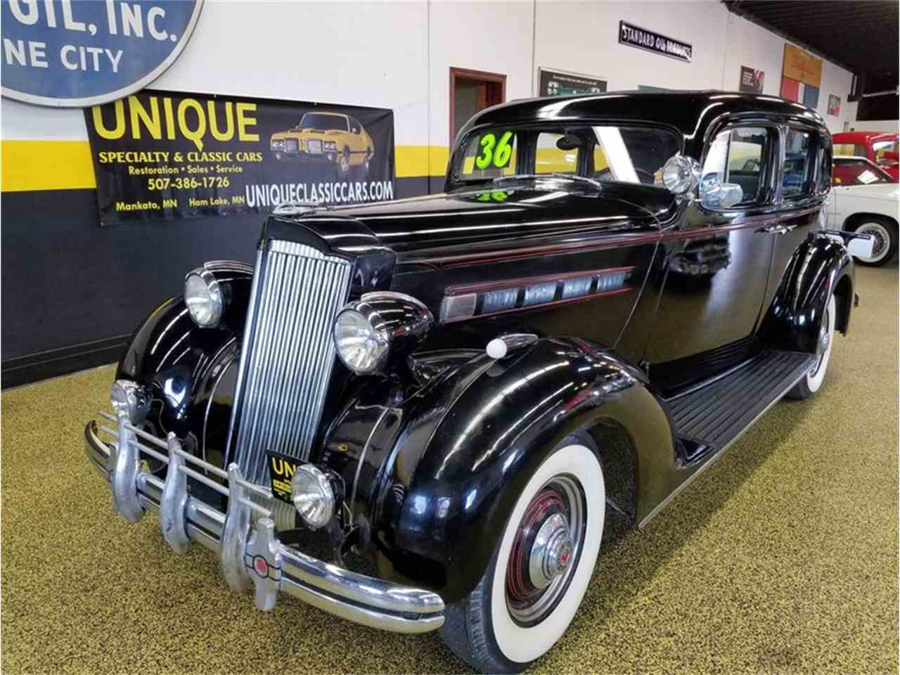 1936 Packard 120 Sedan w/ Supercharger for Sale | ClassicCars.com ...