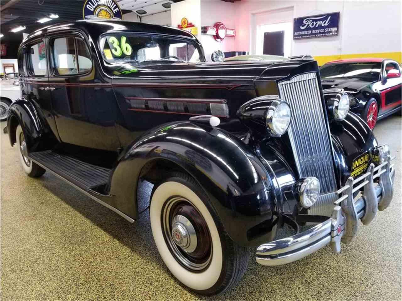 Mankato Car Dealers >> 1936 Packard 120 Sedan w/ Supercharger for Sale ...