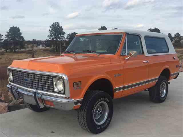 Picture of '72 Blazer - M7I4