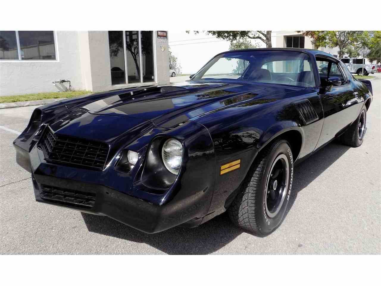 1978 chevrolet camaro z28 for sale cc 1036167. Black Bedroom Furniture Sets. Home Design Ideas