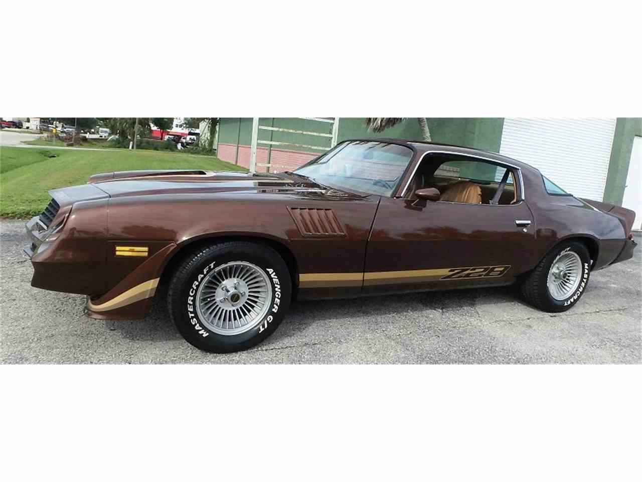 1979 chevrolet camaro z28 for sale cc 1036170. Black Bedroom Furniture Sets. Home Design Ideas