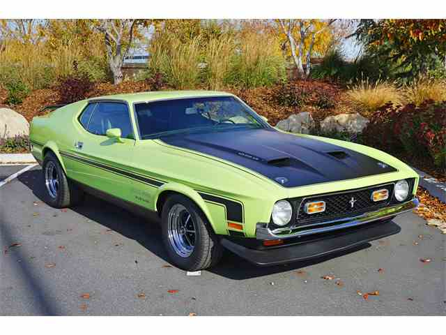 1971 Ford Mustang 429 Boss | 1036362