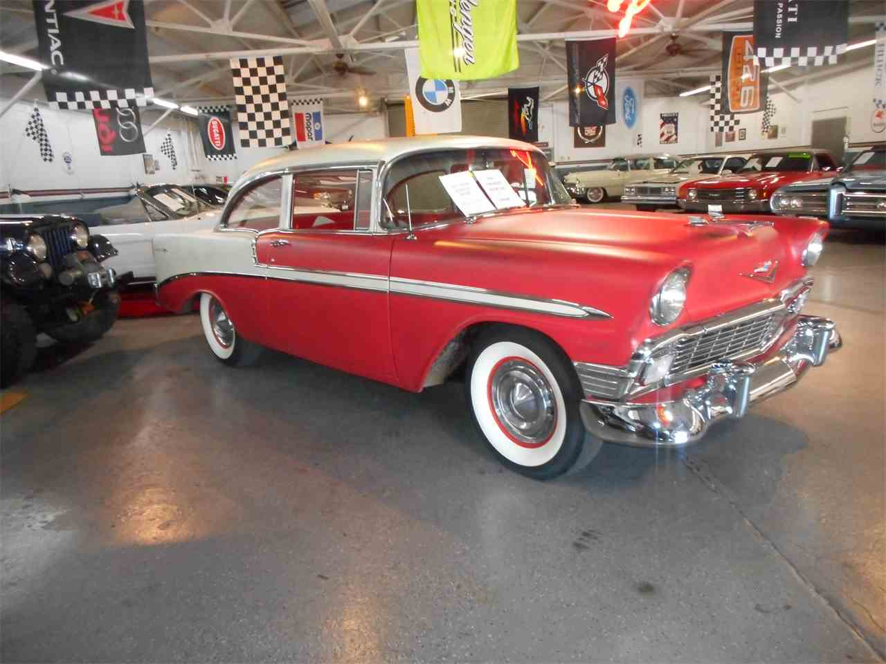 1956 chevrolet bel air for sale classic car liquidators - 1956 Chevrolet 210 For Sale Cc 1036407