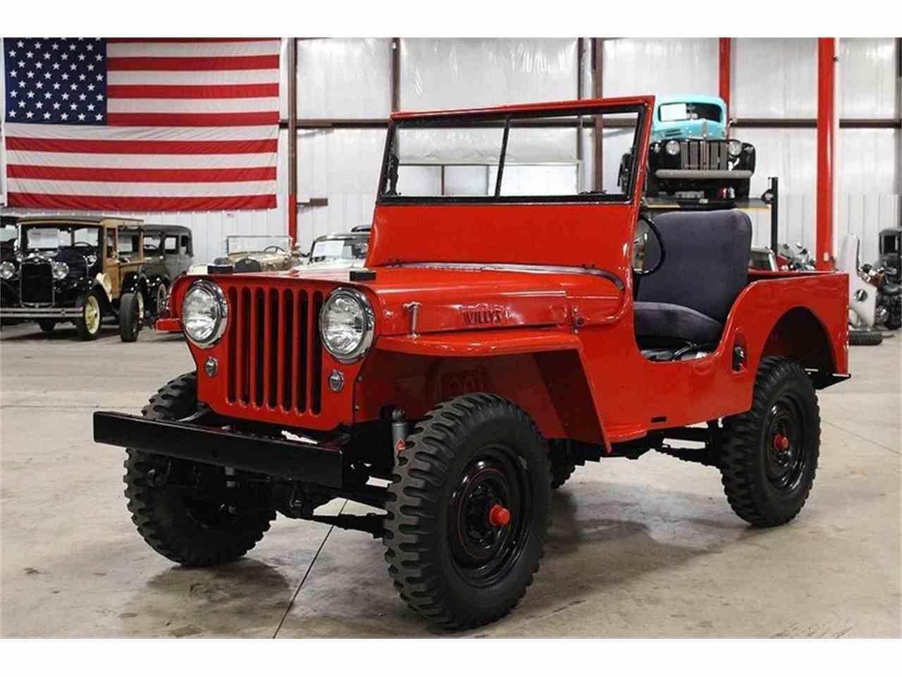 1948 jeep willys for sale cc 1036447. Black Bedroom Furniture Sets. Home Design Ideas