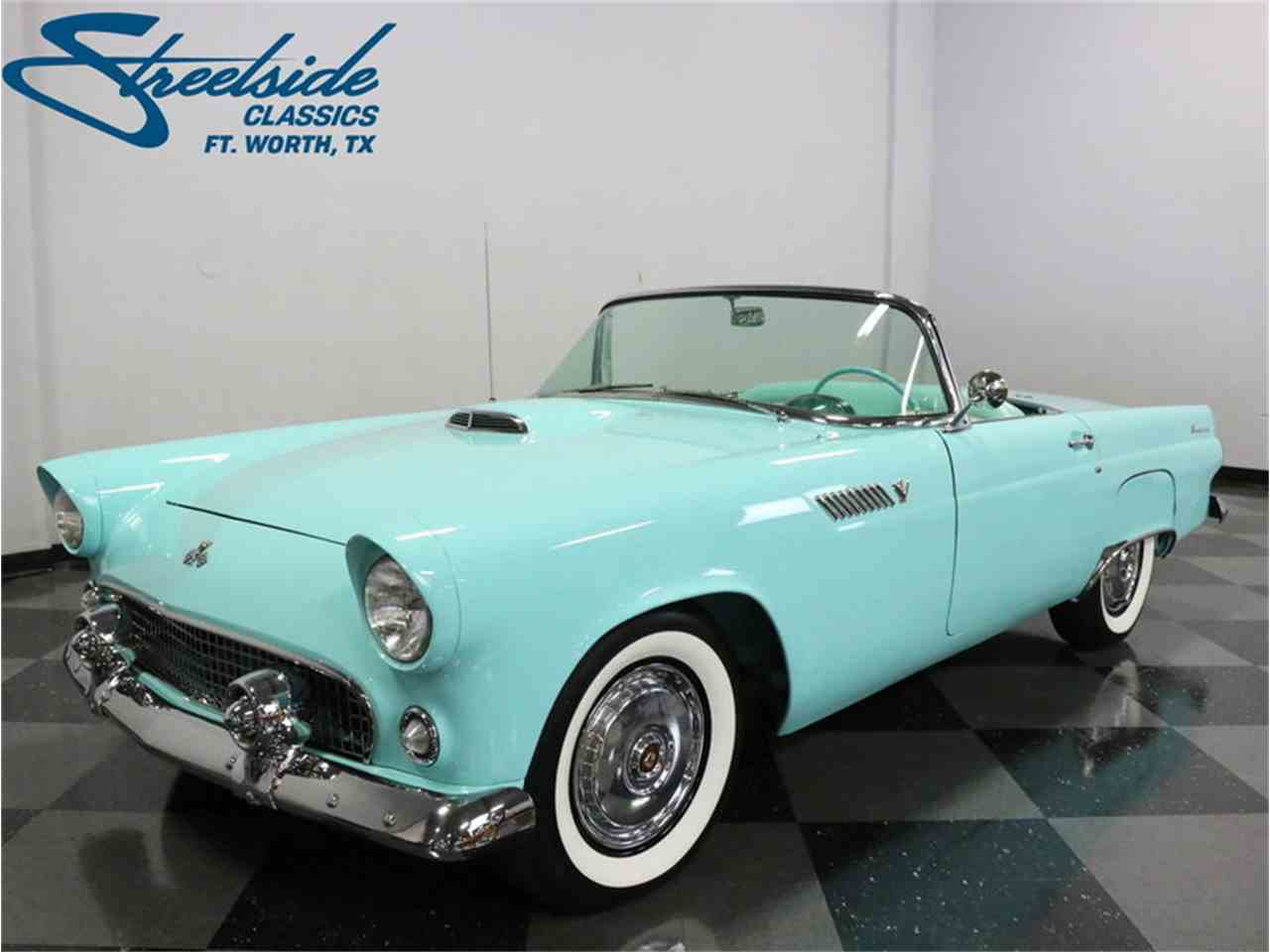 1955 ford thunderbird for sale cc 1036490. Black Bedroom Furniture Sets. Home Design Ideas