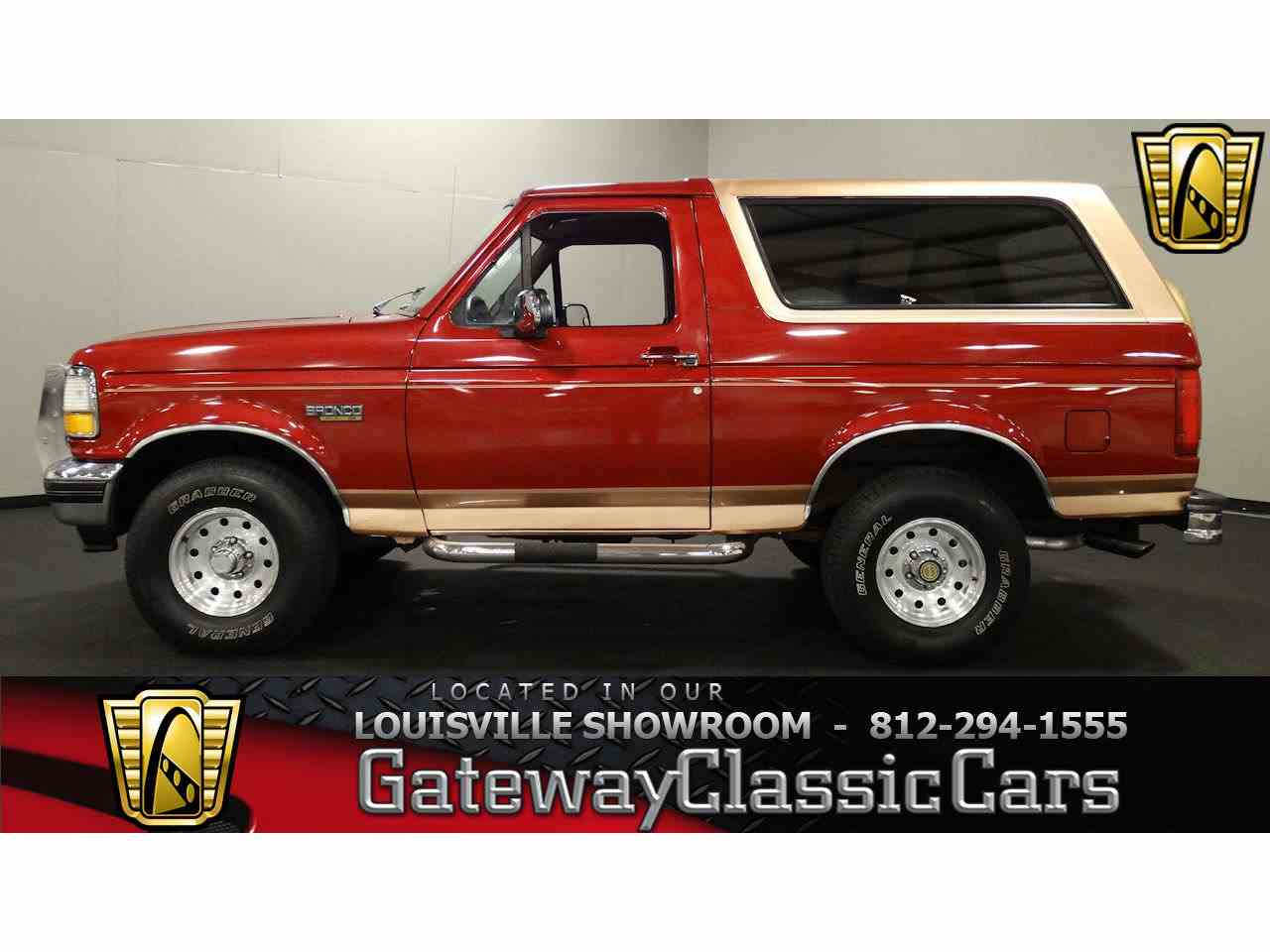 Large Picture of '94 Ford Bronco - $14,995.00 Offered by Gateway Classic Cars - Louisville - M7RG
