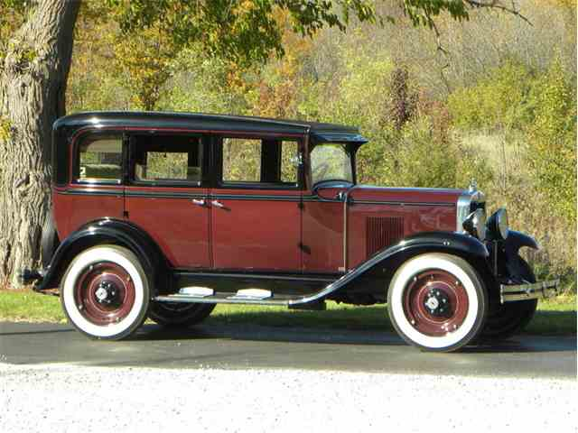 Picture of '30 Universal 4 Dr Sedan - M7U0