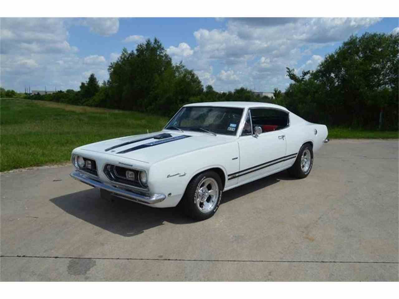 1969 plymouth barracuda for sale cc 1036596. Black Bedroom Furniture Sets. Home Design Ideas