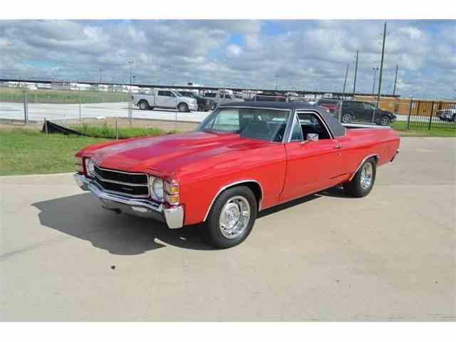 Picture of '72 Chevrolet El Camino located in Houston TEXAS - $20,900.00 Offered by Frank's Car Barn - M7V1