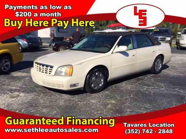 2001 Cadillac DeVille | 1036653