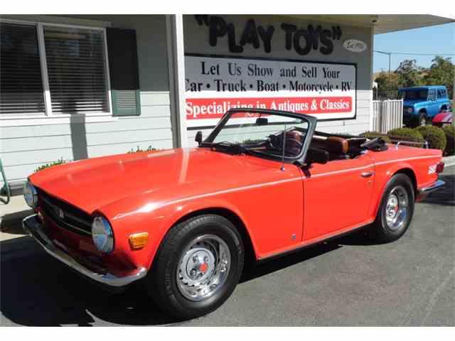 1974 Triumph TR6 | 1036706