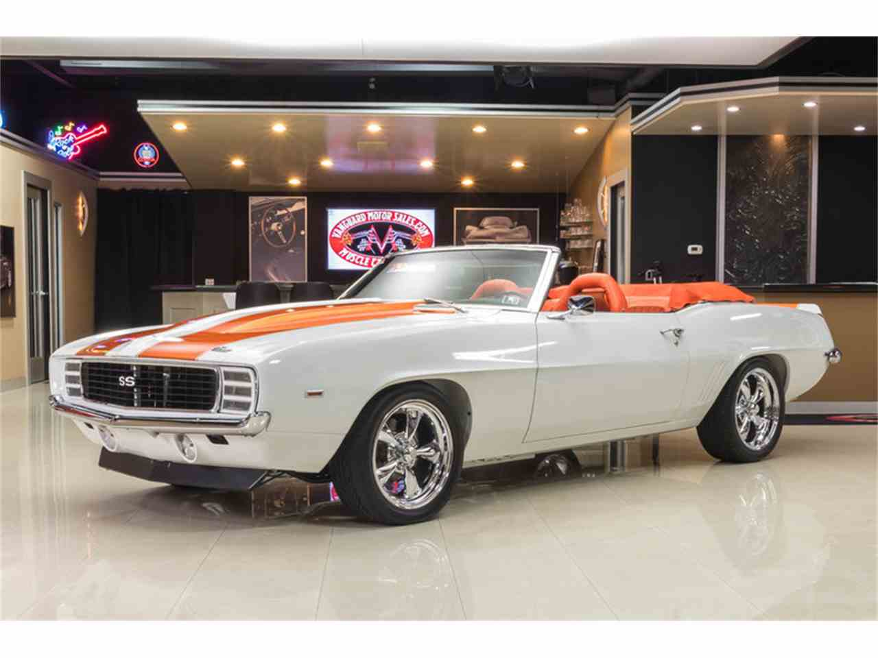 Pics photos chevrolet camaro resto mod for sale - 1969 Chevrolet Camaro Rs Ss Indy Pace Car Convertible Restomod For Sale Cc