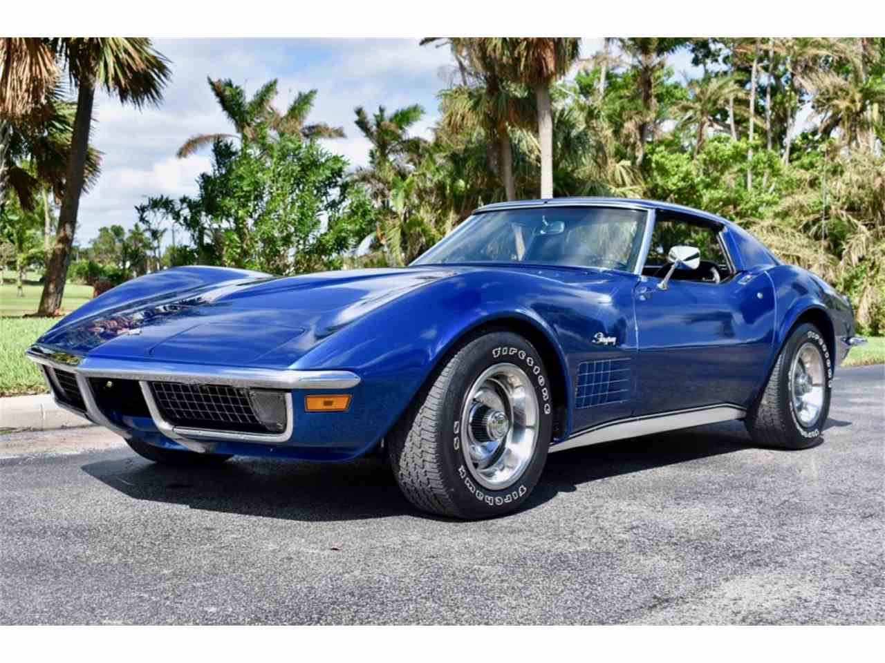 1970 chevrolet corvette for sale cc 1036966. Black Bedroom Furniture Sets. Home Design Ideas