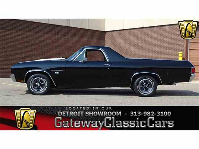 Picture of 1970 Chevrolet El Camino located in Michigan Offered by Gateway Classic Cars - Detroit - M8C6