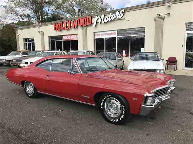 1967 chevrolet impala for sale on for Hollywood motors west babylon