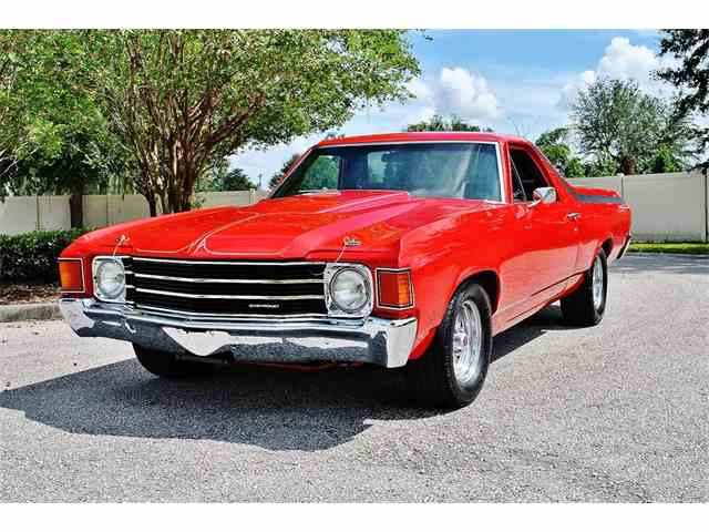 1972 chevrolet el camino for sale on. Black Bedroom Furniture Sets. Home Design Ideas