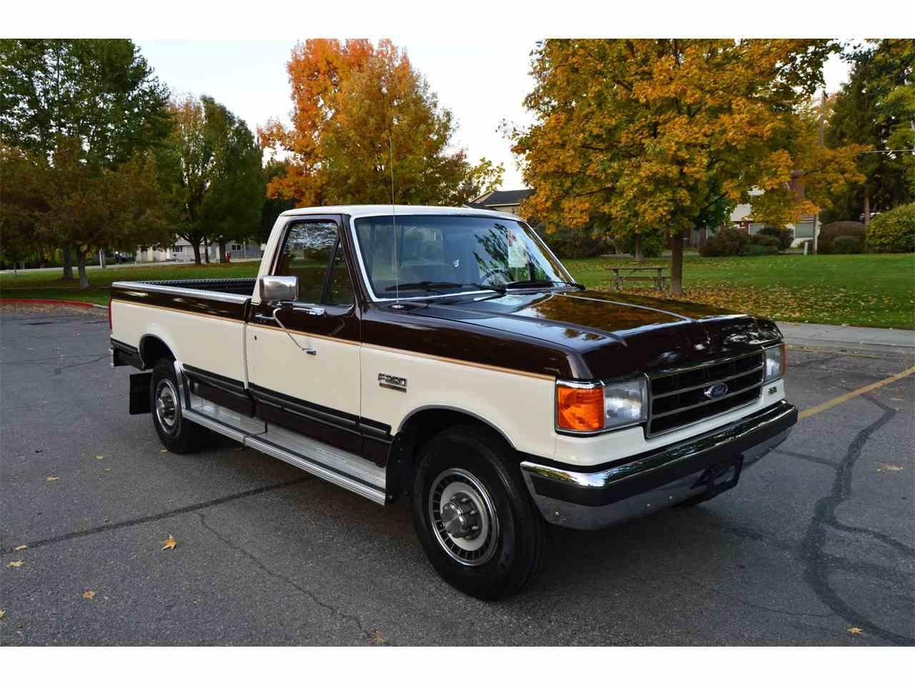 1990 ford f250 lariat for sale cc 1037517. Black Bedroom Furniture Sets. Home Design Ideas