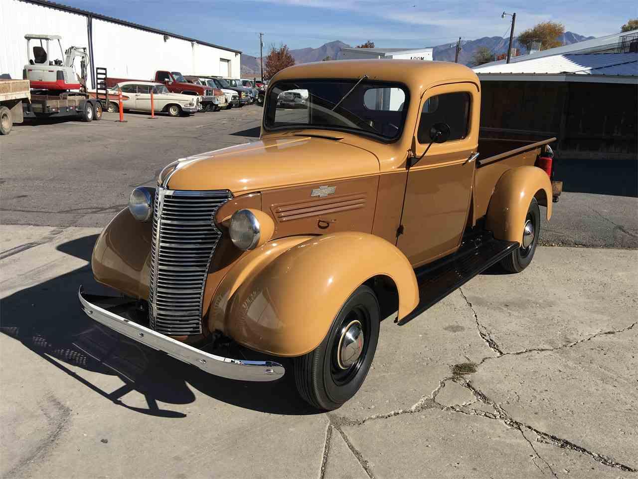 1938 chevrolet pickup for sale cc 1037540. Black Bedroom Furniture Sets. Home Design Ideas