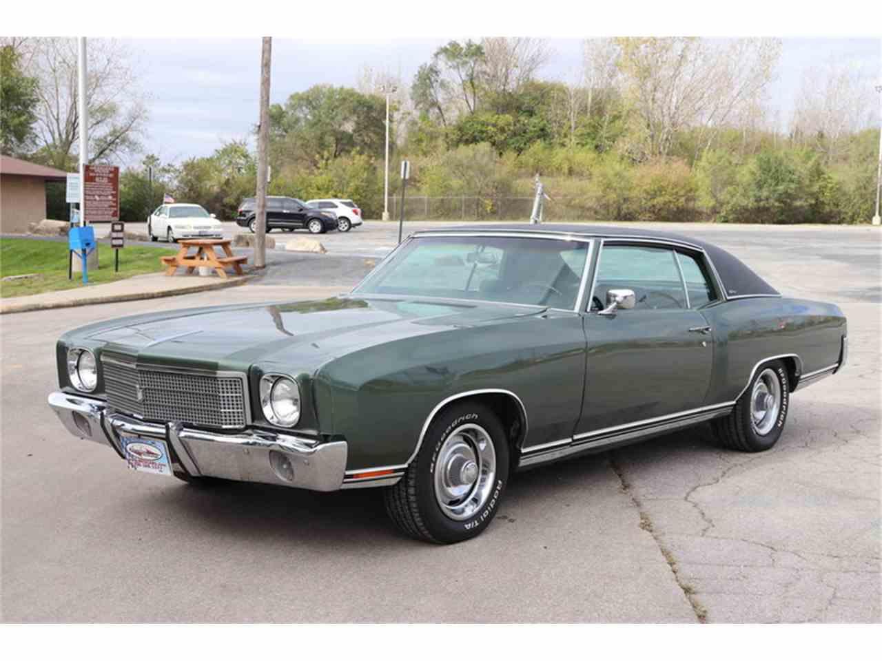 1970 Chevrolet Monte Carlo For Sale Classiccars Com Cc