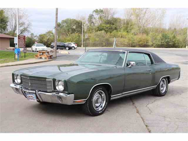 Picture of '70 Monte Carlo - $18,900.00 Offered by Midwest Car Exchange - M8MQ