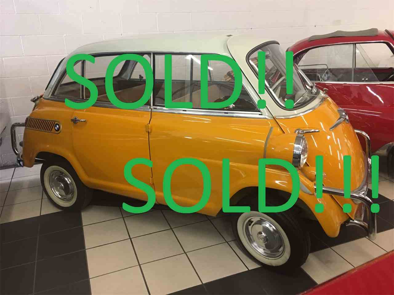 Large Picture of 1960 BMW 600 Auction Vehicle Offered by Classic Rides and Rods - M8NA