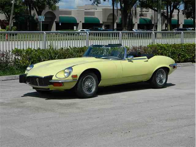 1974 Jaguar XKE | 1037800
