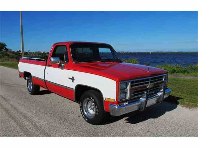 1985 to 1987 chevrolet silverado for sale on 20 available. Black Bedroom Furniture Sets. Home Design Ideas