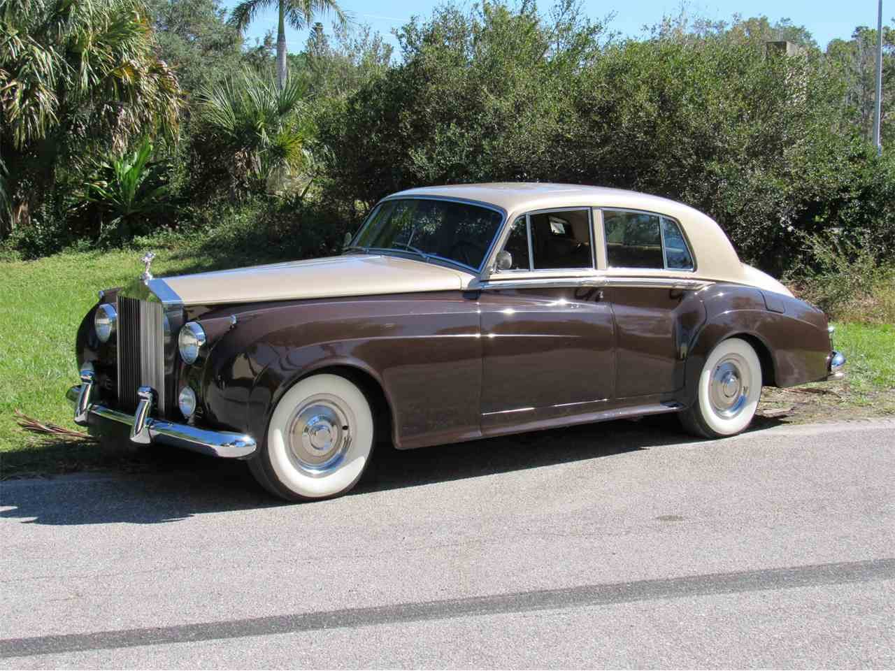 1959 rolls royce silver cloud for sale cc 1037878. Black Bedroom Furniture Sets. Home Design Ideas