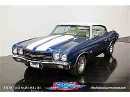 Picture of Classic 1970 Chevrolet Chevelle SS located in Missouri - $52,900.00 Offered by St. Louis Car Museum - M8UN