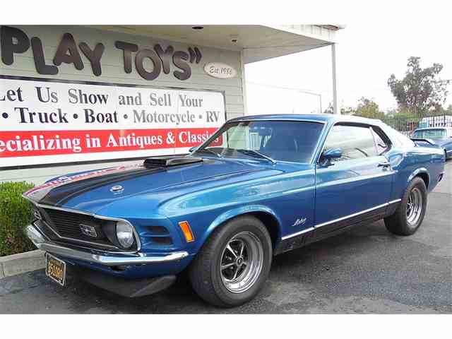 Picture of '70 Mustang Mach 1 - M8VQ