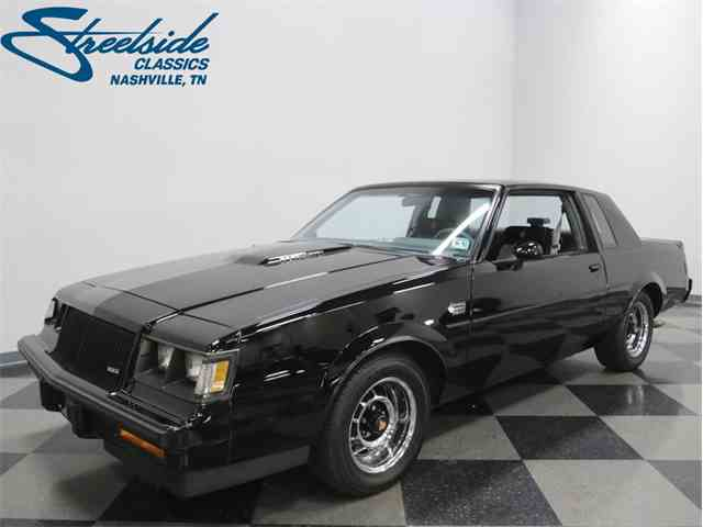 1987 buick grand national for sale on 16 available. Black Bedroom Furniture Sets. Home Design Ideas