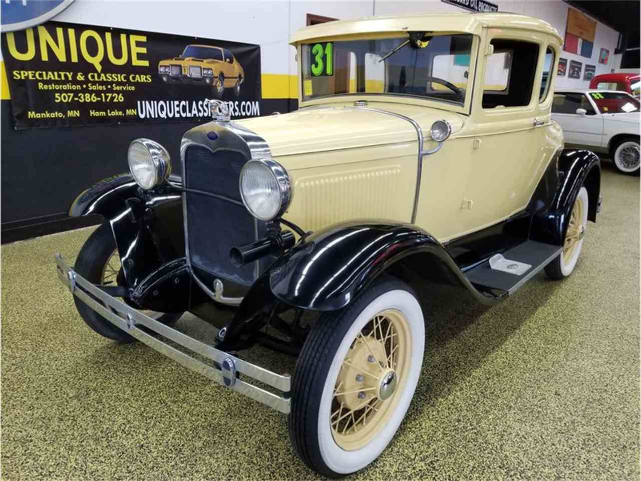 Large Picture of '31 Model A 5 window coupe with rumble seat - M8ZN