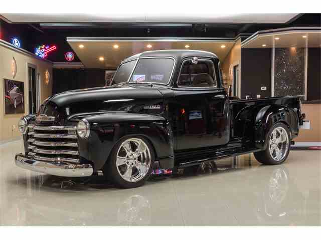 Picture of Classic 1951 Chevrolet 3100 5 Window Pickup Pro Touring located in Plymouth Michigan - $119,000.00 Offered by Vanguard Motor Sales - M91T